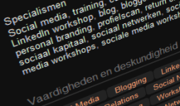 Specialties wordt Skills and Expertise